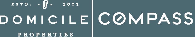 Domicile Compass White Footer Logo