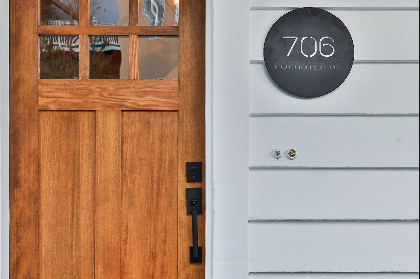 San Francisco Real Estate - front door details