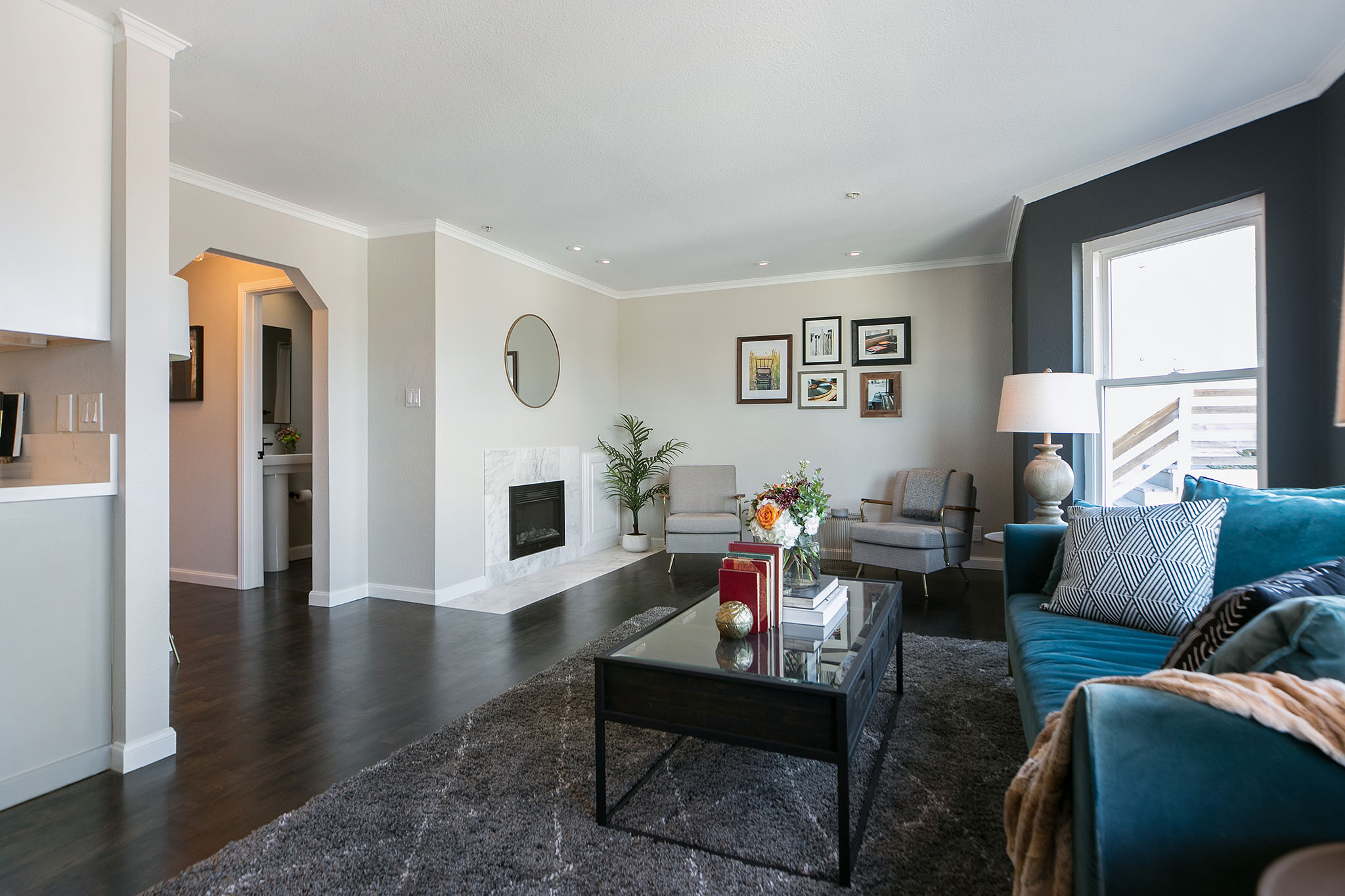 San Francisco Home - Living Room