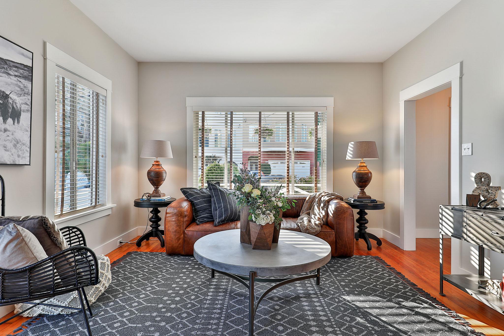 San Francisco Homes - Looking into living room