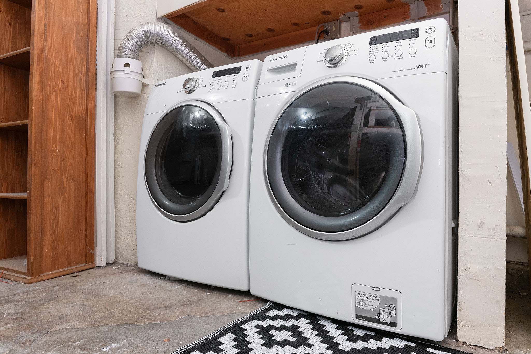SF Home - washer and dryer