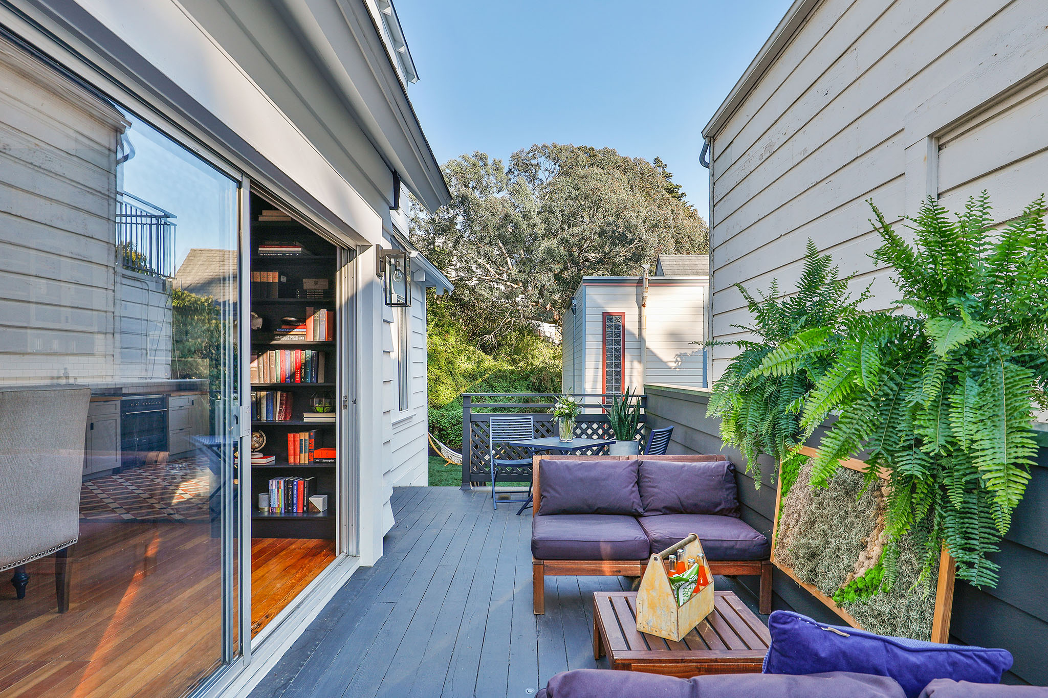 SF Real Estate - Deck with Sitting Area