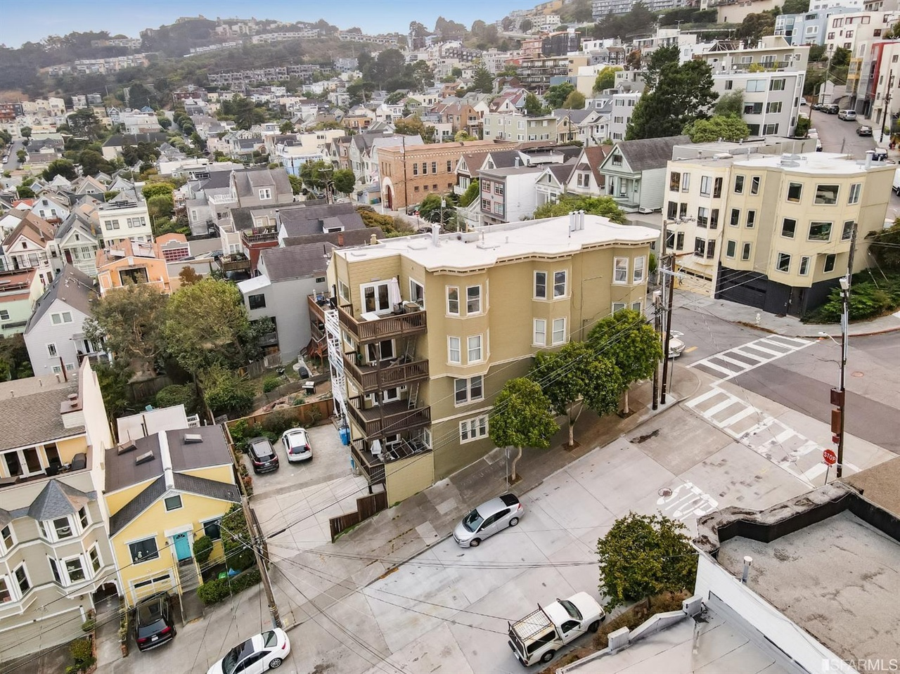 San Francisco - Luxury Home Aerial View