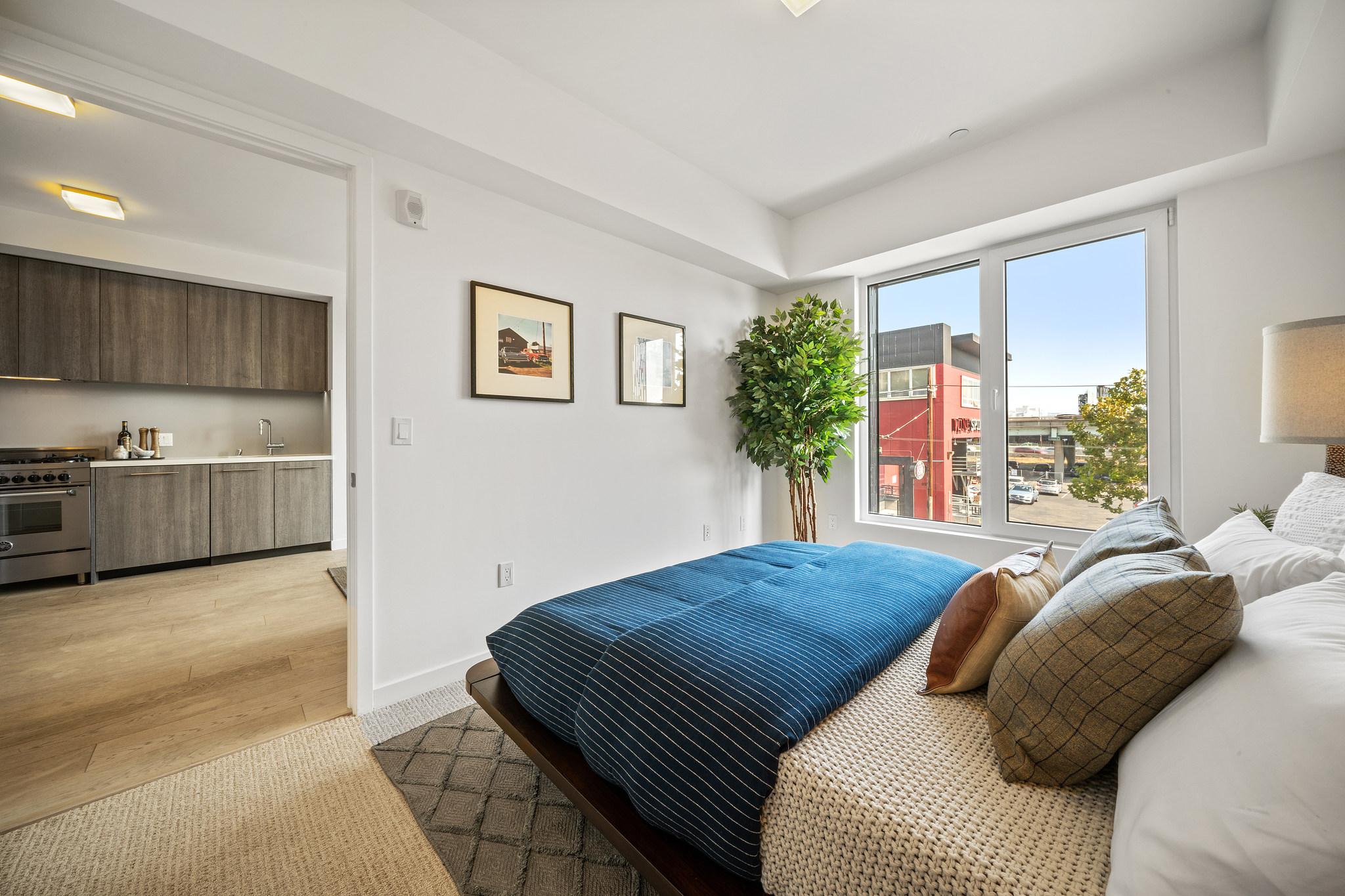 Bay Area Apartment - Primary Bedroom