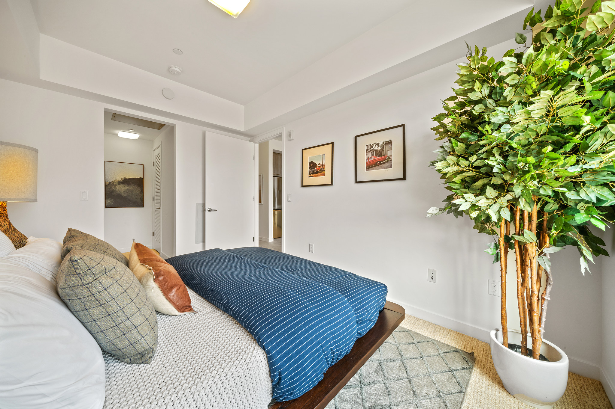 Primary Bedroom with Natural Lighting - SF Realty